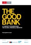 The Good Bank Programme Report WEB